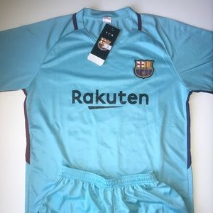 Other - Messi Barcelona KIDS SIZE AWAY SOCCER JERSEY
